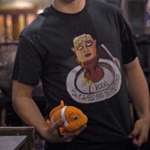 a void rock sonic grunge t-shirt nemo fish bandcamp